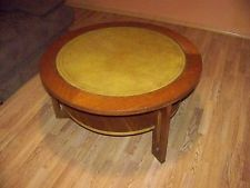 Vintage Mid Century Modern Style Round Coffee Table - Unusual...