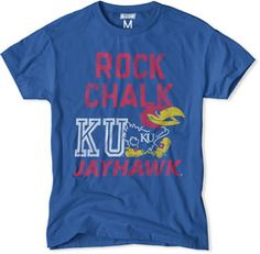Kansas Rock Chalk Jayhawk T-Shirt