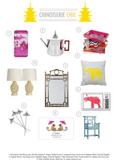 { Chinoiserie Chic }