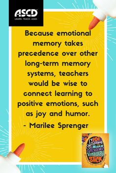 Using joy and humor when teaching will help students' memory. Learn 101 vocabulary strategies in this book.