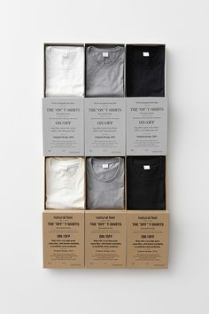 t-shirt packaging.