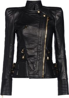 Leather Outerwear - Lyst