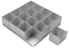 Alan Silverwood 16 piece Square Multi Cake Pan Set 2 >>> Continue to the product at the image link. Square Cake Pans, Square Cakes, Mini Cake Pans, Mini Cakes, Bread Tin, Tall Cakes, Cake Decorating Tools, Cookie Decorating, Ruffle Cake
