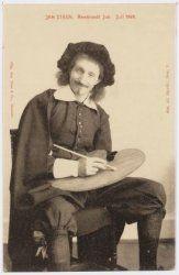 Rembrandtfeesten. Historisch-Allegorische Optocht. Juli 1906 Rembrandt, Van, Painting, Style, Swag, Painting Art, Paintings, Vans, Painted Canvas