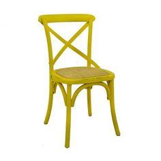 Compre Cadeira Katrina Amarela e pague em até 12x sem juros. Na Mobly a sua compra é rápida e segura. Confira!