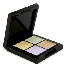 A sheer, easy-to-apply face corrector,,Helps expertly neutralize & cover skin discolorations,,Yellow: Helps cover mild redness, pink skin, under-eye circles, dark spots & black, blue & purple bruises,,Mint: Helps cover redness from blemishes, scars, Port Wine Stains, rosacea & red blotches