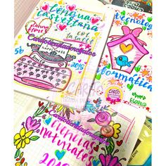 💙 🌈💝Temporada Escolar 2018💝🌈💙 💖Marcamos Tus Cuadernos Con Muchísimo Amor💖 • Tráelos Con Anticipación - caritotiendaderegaloscucuta