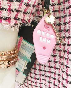 something special ♡ Something Special, Key Rings, Kate Spade, Personalized Items, Bracelets, Miami, Road Trip, York, Jewelry
