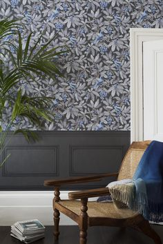 Midnight Royal Garden by Cole & Son wallpapers