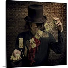 Canvas On Demand Try Your Fortune by Kiyo Murakami Photographic Print on Canvas Size:
