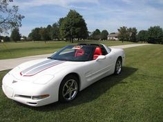 2002, Chevy Corvette C5 Low mileage 28,000, Exterior White with Red Interior, Garage Kept, Excellent Condition with Automatic Transmission and T-top - removable hard top. Sound System, Remote Keyless Ent., Auto, CD, Heated Seats, Power Windows, Power Doors, Cruise Control, Power Locks, Anti Theft, Garage Kept, No Smoke. No Texting, Phone Calls Only. - See more at: http://www.cacars.com/1002736.html#sthash.3uQyNVeM.dpuf