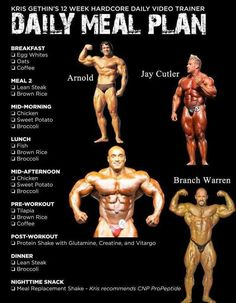 Sample Daily Meal Plan for Bodybuilding - Fit n Workout Bodybuilding muscle workout using different workout techniques like uni-set, multi-set, pyramid routines, super breathing sets and much more. Choose an effective workout that suits your lifestyle. Bodybuilding Training, Bodybuilding Workouts, Bodybuilding Motivation, Bodybuilding Diet Plan, Olympia Bodybuilding, Vegetarian Bodybuilding, Bodybuilding Supplements, Female Bodybuilding, The Plan