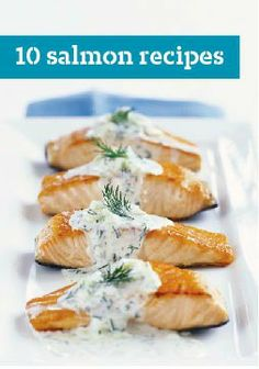 10 Salmon Recipes – Be a seafood gourmet with our top-rated salmon recipes. Our tasty salmon recipes, chosen by our Kraft Kitchen Experts, are quick and easy.