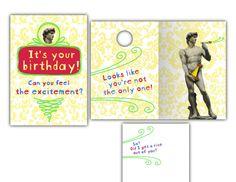 Hallmark Humor Card • Paper Mechanic • David's hand covers up.