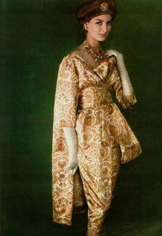 YSL for Christian Dior ensemble, Fall 1958