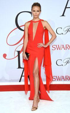 Natasha Poly from 2015 CFDA Fashion Awards: Red Carpet Arrivals | E! Online