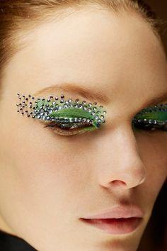 Christian Dior Spring/Summer 2013 Jewelled Eye Make-Up - Pat McGrath (Vogue.com UK)