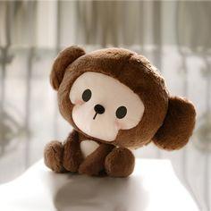 悠乐园乔克力猴子坐毛绒公仔布娃娃玩具送女孩生日节日创意礼物