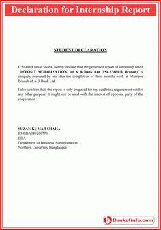 Internship Certificate Format  Letter    Certificate