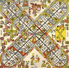 Patolli is an ancient Mesoamerican game. One has recently been discovered at a Maya site in Campeche.