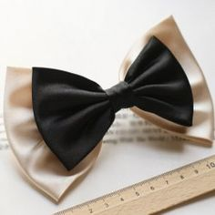 $4.57 Exquisite Elegant Style Double-Deck Bowknot Embellished Hair Clip For Women