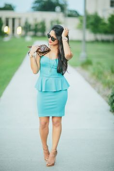 Something Leopard, Something Blue | Haute Off The Rack