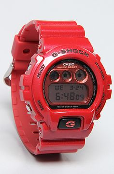 G-SHOCK The 6900 Metallic Watch in Resin Red : Karmaloop.com - Global Concrete Culture