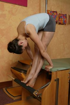Tendon Stretch on the Wunda Chair