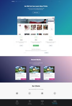Free Landing Page Template, Built with Semantic UI , Download…