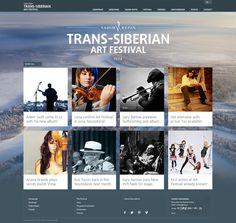 TSAF - layout by Hubert Swolkien, via Behance (web, design, art festival, background image, simple)
