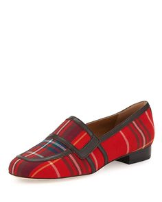 Tartan Plaid Loafer