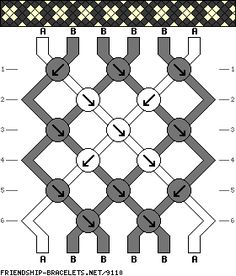 6 strings 6 rows 2 colors