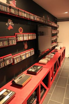 Video game themed rooms are super cool. Lets face it, whether you are young or old, you have probably enjoyed playing a certain video game at one point or another in your life. Find and save ideas about Video game rooms in this article.