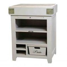 Witte keukenkast of keukenblok van Eleonora