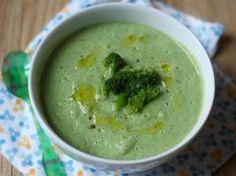 Soupe toute verte aux brocolis, épinards et poireaux • Hellocoton.fr
