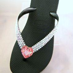 Bling flip flops!