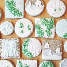 Artful Sugar Cookies - Christmas Cookies That Are Almost Too Pretty To Eat - Photos