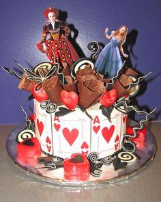 """Alice in Wonderland"" Treats at Honey Moon Sweets"