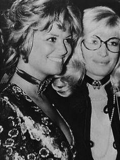 Claudia Cardinale e Monica Vitti