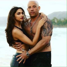 Deep ♥ and Vin Diesel in ‪#‎xXx‬
