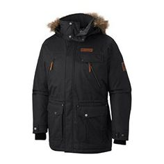 Columbia Men's Barlow Pass 550 Turbodown Jacket, Large, Black *** You can get additional details at the image link.