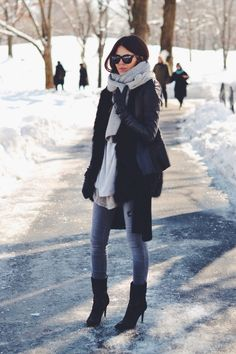 Bundled up and ready for Central Park http://rstyle.me/n/upere4ni6 #winteroutfits