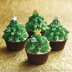 easy christmas cupcakes - Kids Kubby