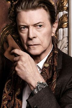 David Bowie Louis Vuitton Campaign Revealed  Oh my Bowie!! He is still sooo sexy.