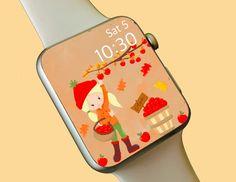 Watch Wallpaper / Apple Watch / FitBit / Smartwatch / Watch Background