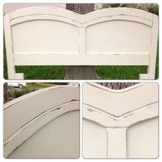 Custom queen headboard for a client. LIKE our Facebook page for updates and new pieces!