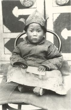 Dali Lama as a young boy~