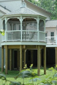 2nd+Story+Azek+Deck+with+a+custom+made+Amish+Country+Gazebo