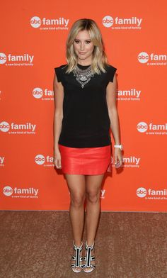More Pics of Ashley Tisdale Mini Skirt (5 of 26) - Mini Skirt Lookbook - StyleBistro
