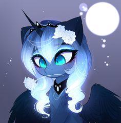 Drawfriend Stuff - BEST Drawings of Luna! My Little Pony Characters, My Little Pony Comic, My Little Pony Drawing, My Little Pony Pictures, Oc Manga, Nightmare Moon, Little Poni, Mlp Fan Art, Chibi